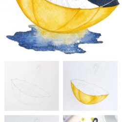 Tutorials - Rosie Shriver.sketchbook #easywatercolorpaintings Geschichten • Instag ...